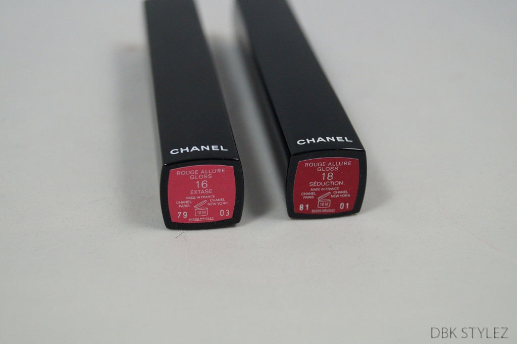 Chanel lipglos numbers