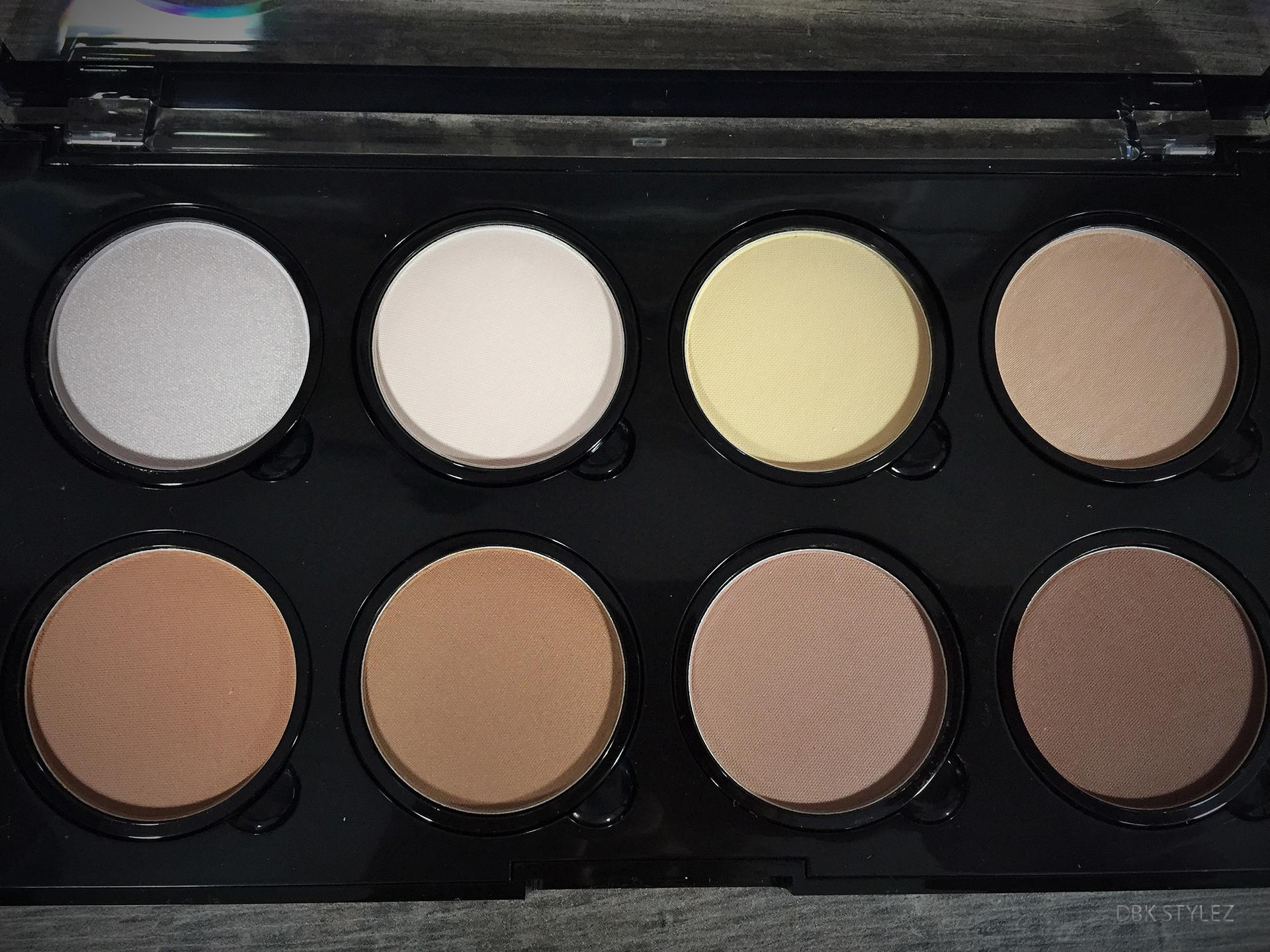 Nyx pro palette colors