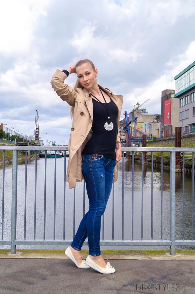 Trenchcoat Esprit Klerovski Outfit 3