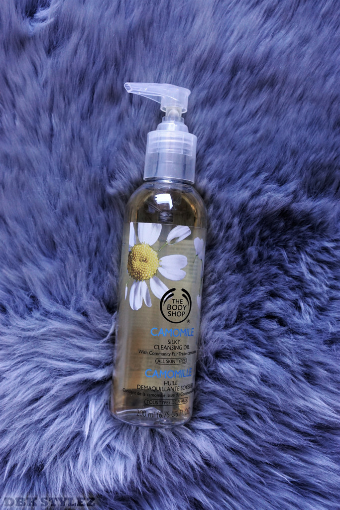 Cleansing oil camomile the body shop dbk stylez