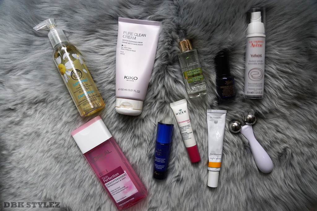 Evening skin care Kiehl´s Avéne Dr Hauschka Kiko Milano the body shop bielenda lóréal guerlain nuxe dbk stylez