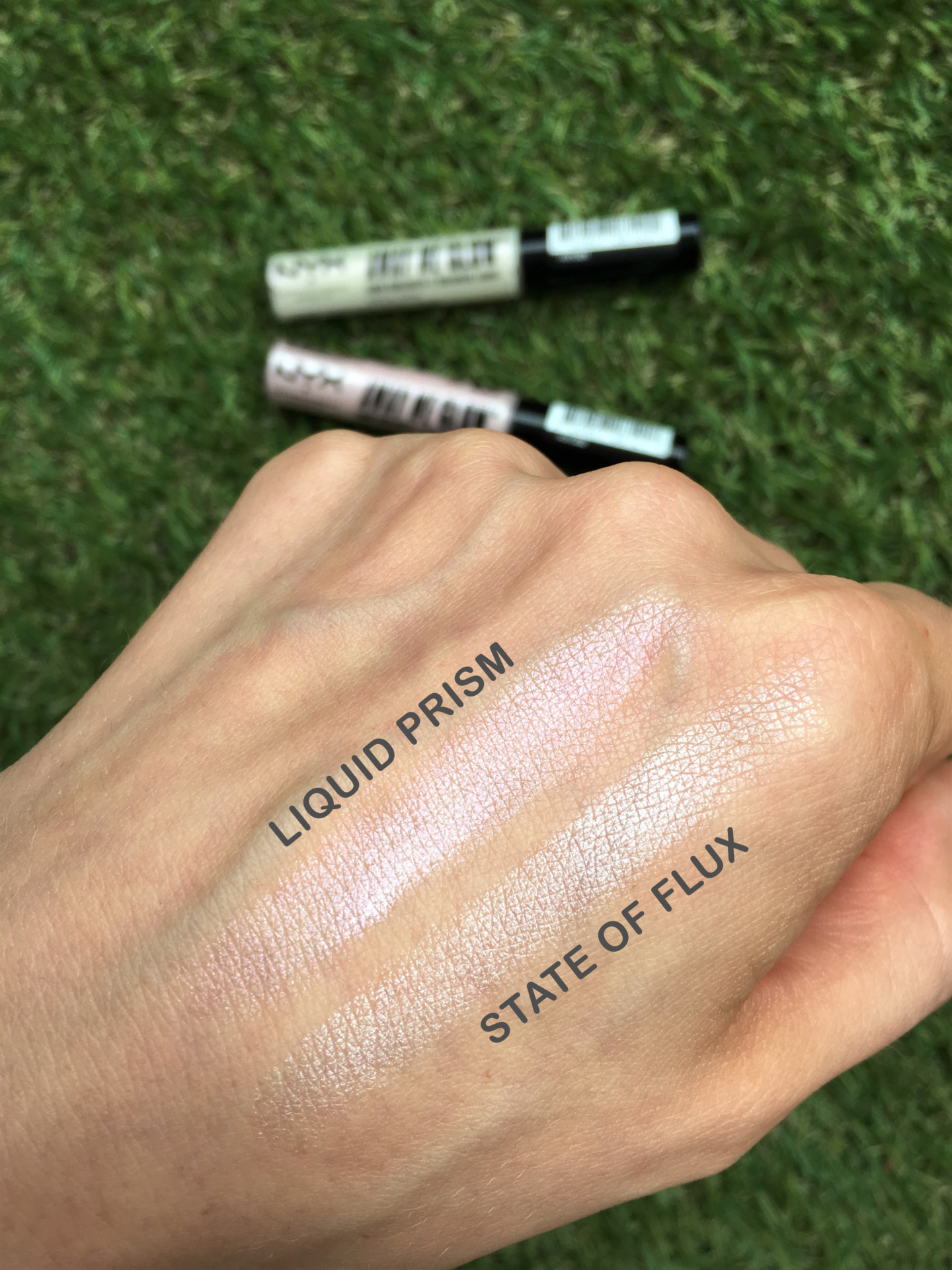 nyx_away_we_glow_highlighter_makeup_dbkstylez_хайлайтер_макияж_бьюти_блог